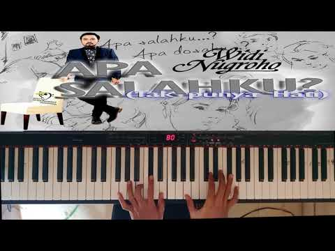 Widi Nugroho - What's My Fault (Do not Have Heart) Piano cover By Ny Irawan