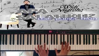 Widi Nugroho - Apa Salahku ( Tak Punya Hati ) Piano Cover By Ny Irawan