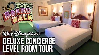 Deluxe Concierge Level Room Tour - Disney's Boardwalk Inn Innkeeper's Club