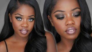 Sultry Seductive Smokey Eye Makeup | Cydnee Black