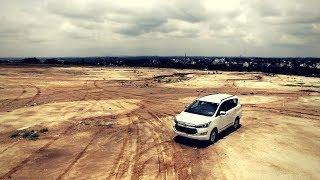 Toyota Innova Crysta! MY NEW CAR Drone shots