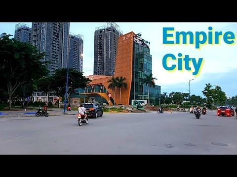 Empire city 88 Thủ Thiêm mới nhất    đông vui chiều cuối tuần