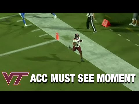 Virginia Tech RB Kahlil Herbert Closes Out Duke With TD RunKaynak: YouTube · Süre: 42 saniye