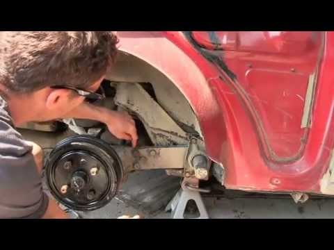 How to lower rear suspension on a 1970 VW Type 3 Fastback