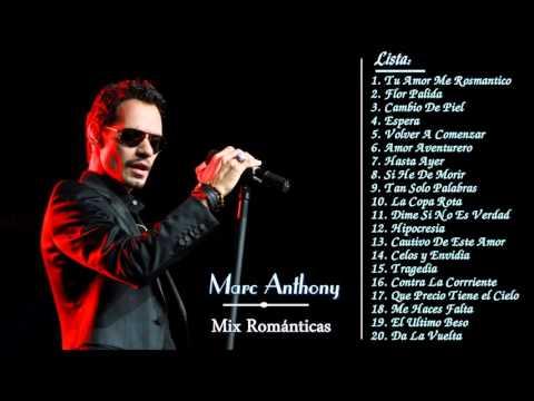Marc Anthony sus Mejores Exitos Baladas Románticas - Exitos MIX