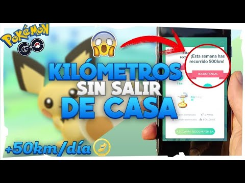 TRUCO DE LA SINCROAVENTURA DE POKEMON GO, (+km) Mas Caramelos Y Huevos Sin Salir De Casa