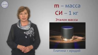 Физика 7 класс. Масса тел  Единицы массы