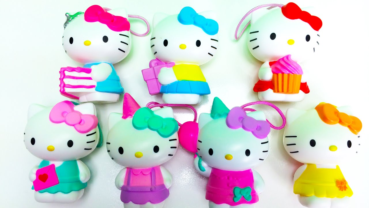 Hello Kitty Mcdonald S Toys : Hello kitty th anniversary mcdonald s happy meal