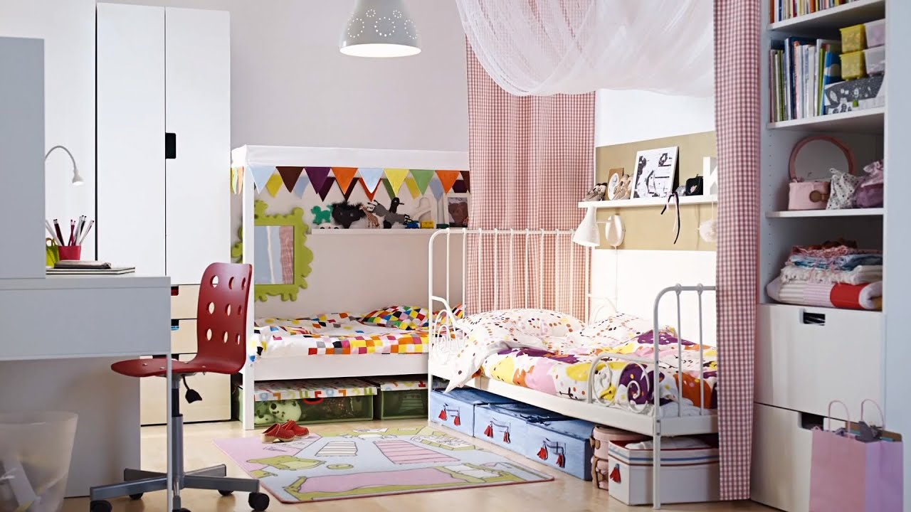 Childrens IKEA Kids shared rooms can be the best of both worlds  YouTube