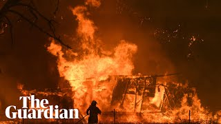'As bad as it gets': bushfires in Australia create catastrophic conditions