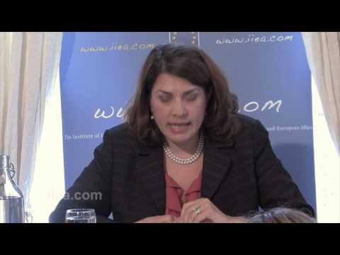 Julieta Valles Noyes - U.S. Perspective on Bilateral Ties with Ireland ...