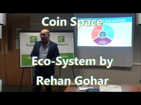 CoinSpace Eco System by Rehab Gohar