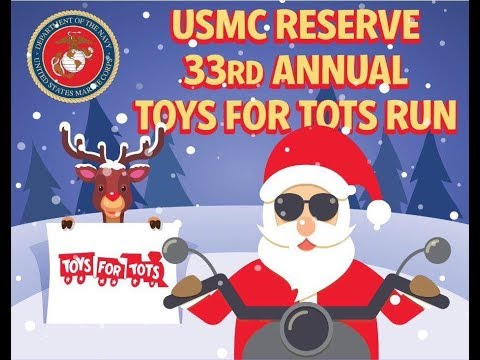 USMC Reserve 33RD Annual TOYS FOR TOTS RUN Slideshow