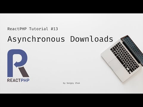 Making Asynchronous HTTP Requests With ReactPHP · @zhukserega