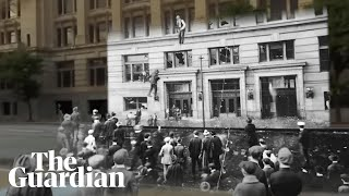 Omaha riot: how a white mob lynched a Black man and destroyed a city – 360 video