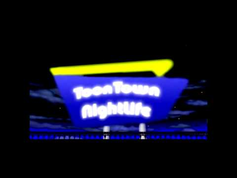 Toontown Nightlife - Toontown Central Playground