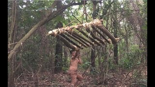 Primitive Technology: Forest Chicken Trap