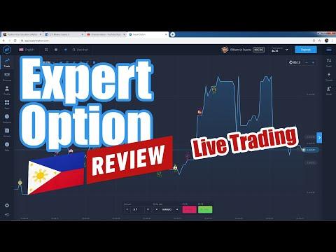 Expert Option Philippines madali bang Kumita ng pera? : Live and Actual Trading Review