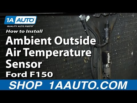 How To Replace Outside Air Temperature Sensor 04-08 Ford F150