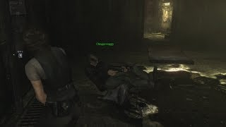Resident Evil 6 pro playthrough with Gar - Leon Chapter 2