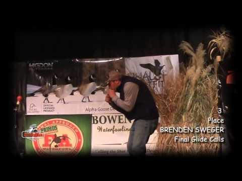 Чемпионат Мира 2015 по эмитации голоса утки утиным манком в категории (живая утка). Финал.