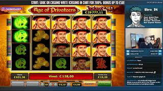 BIG WIN!!!  Age of privateers Big win - Slots - free spins (Online slots)