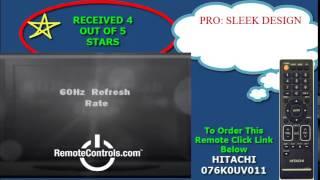 Review Hitachi HDTV LED - LE32S406