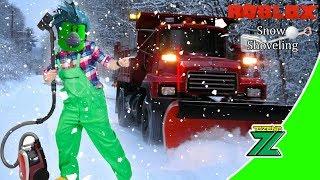 Roblox Indonesia | Snow Shoveling Simulator | Beli Truck Baru dan Vaccum uy Asek!! 😱