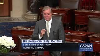 Word for Word: Sen. Lindsey Graham Delivers Tribute to Sen. John McCain (C-SPAN)