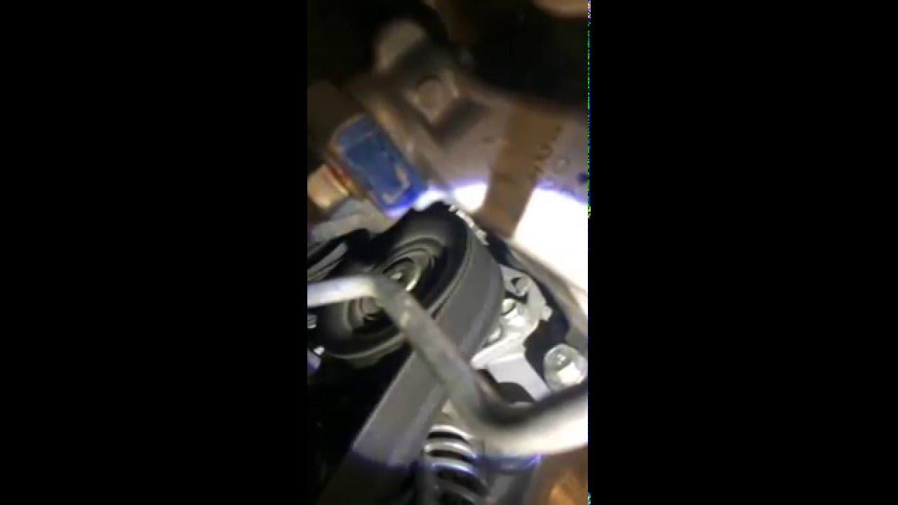 2013 Accord Noisy Serpentine Belt Auto Tensioner Pulley Youtube 2006 Honda Odyssey Diagram On 2010 Pilot Engine
