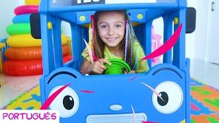 As Rodas do Ônibus - canção infantil por Sunny Kids Songs em Português