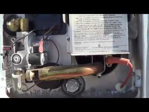 Water Heater  Cougar 276RLSWE Fifth Wheel Trailer Review  YouTube