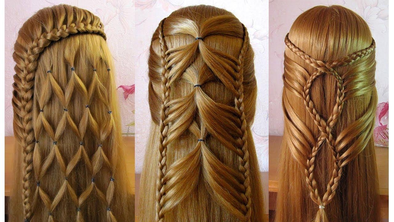 Coiffures Simples Et Belles Facile A Faire Cheveux Longs Mi Longs