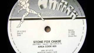 "AREA CODE 605 - Stone Fox Chase (1983 12"")"
