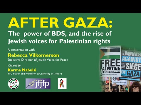 Conversation with Rebecca Vilkomerson, Jewish Voice for Peace