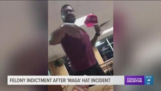 Man accused of stealing San Antonio teen's 'MAGA' hat indicted