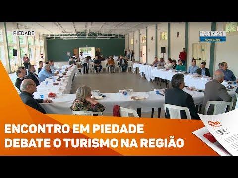 Encontro debate turismo na região - TV SOROCABA/SBT