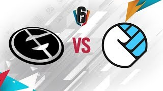 Rainbow Six - Six Invitational 2018 - Evil Geniuses vs. 1UP esports - day 1