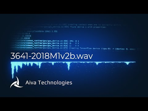 3641 - AI generated music by AIVA