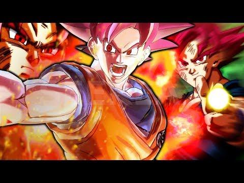 Ascending to Super Saiyan GOD! Goku Life Line! Dragon Ball Xenoverse 2
