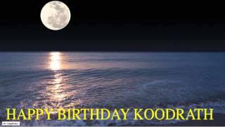 Koodrath  Moon La Luna - Happy Birthday