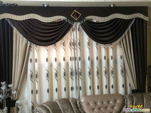 how to make swags and tails curtains the closed swag youtube. Black Bedroom Furniture Sets. Home Design Ideas