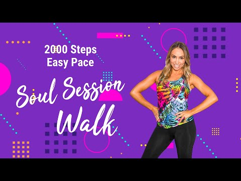 2000 STEPS | SOUL SESSIONS WALKING WORKOUT | BEGINNER FRIENDLY + CALORIE BLASTING