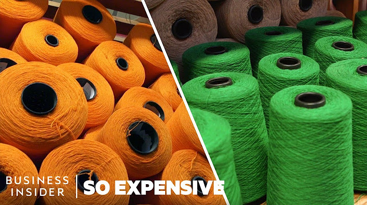 why cashmere is so expensive  so expensive