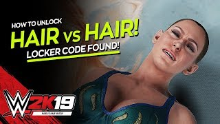 WWE 2K19: How to unlock the Hair vs Hair Match! (Tutorial)