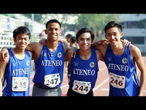 AteneoHS new record in 4x100m relay for boys at UAAP 80 Track and Field Championship