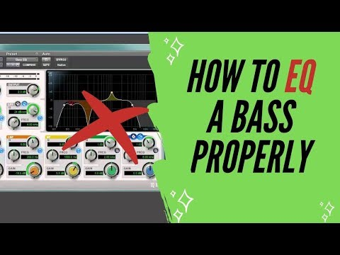 Bass Eq Tutorial - Get Your Bass Sound To Sit Well In A Mix
