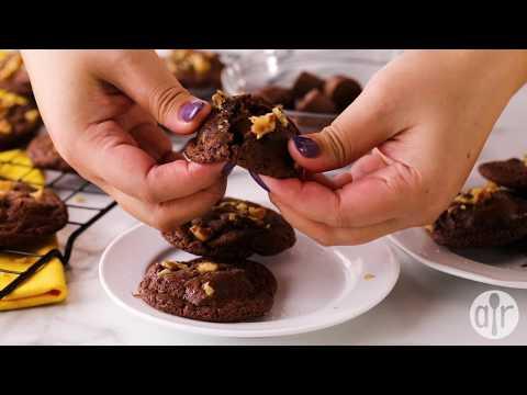 How To Make Caramel Filled Chocolate Cookies | Cookie Recipes | Allrecipes.com