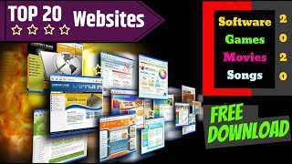 Top Websites 2020 | Free Download | Software | Movies | Games | Songs