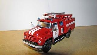 Масштабна модель автомобіля Зіл-130 АЦ-40 в масштабі 1:43